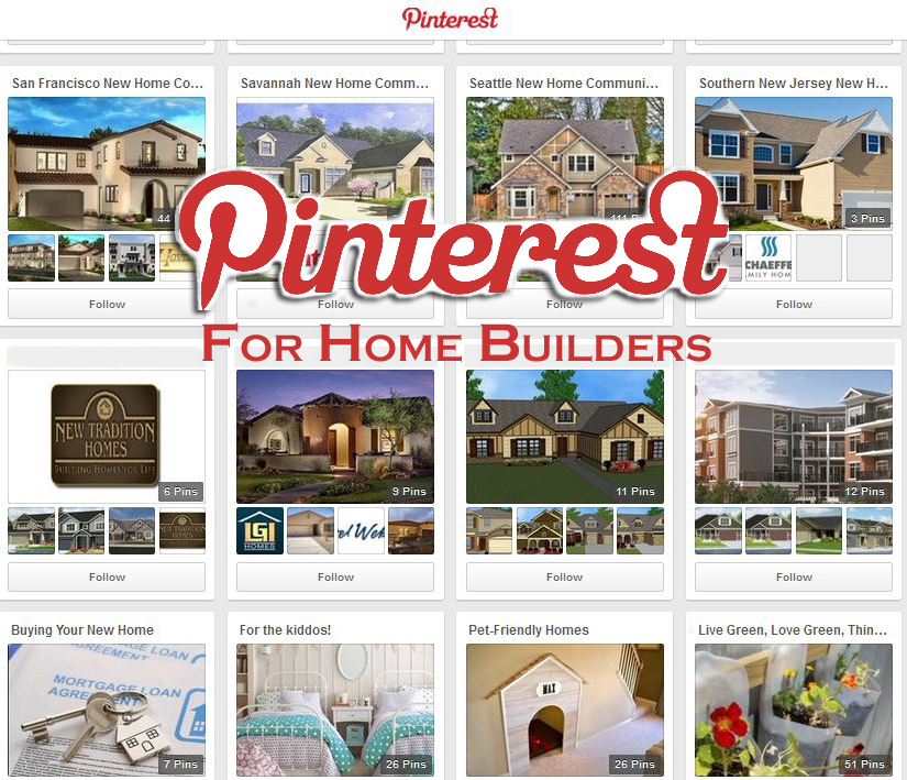 Pinterest For Home Builders