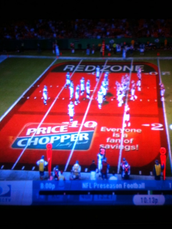 Kansas City Chiefs in the Red Zone vs Seattle Seahawks